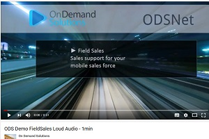 ODS Demo Field Sales