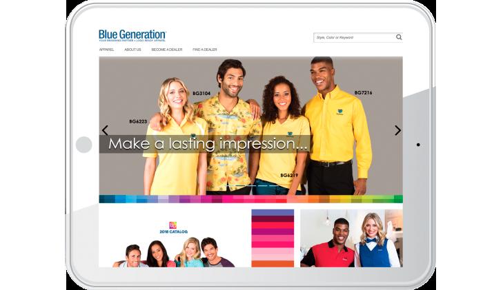 Blue Generation - Make a lasting impression...