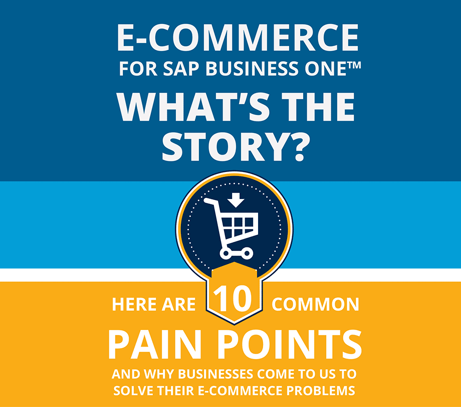 E-Commerce for SAP Business One™ - What's the story? - Cover