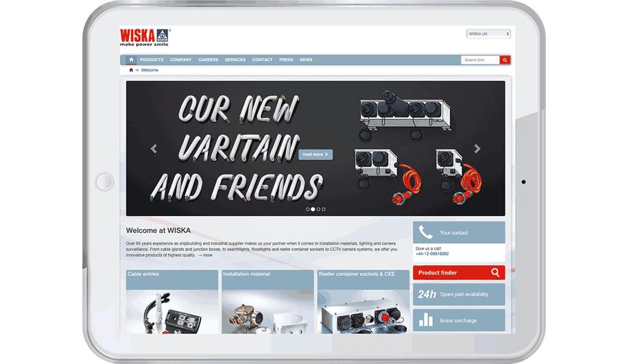 WISKA UK chose ODSNet after reviewing a range of e-commerce platforms.